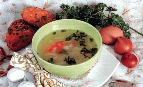 """Рецепт """"Куриный суп с макаронными изделиями"""""""