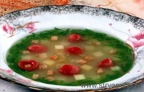 Суп калорийный