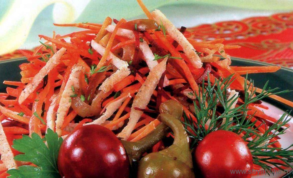 Рецепт салата китайский дракон с фото